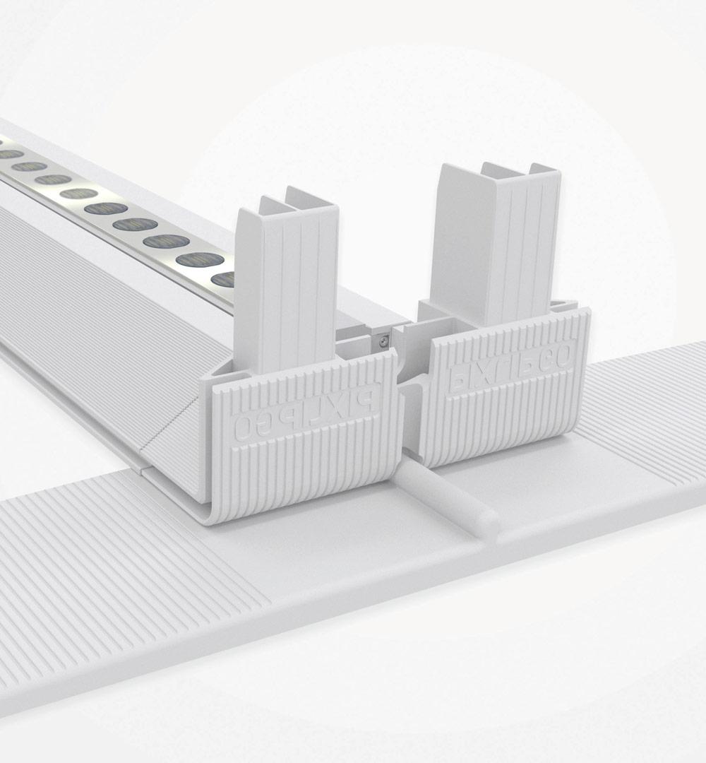 PIXLIP GO Lightbox - Profil mit LED