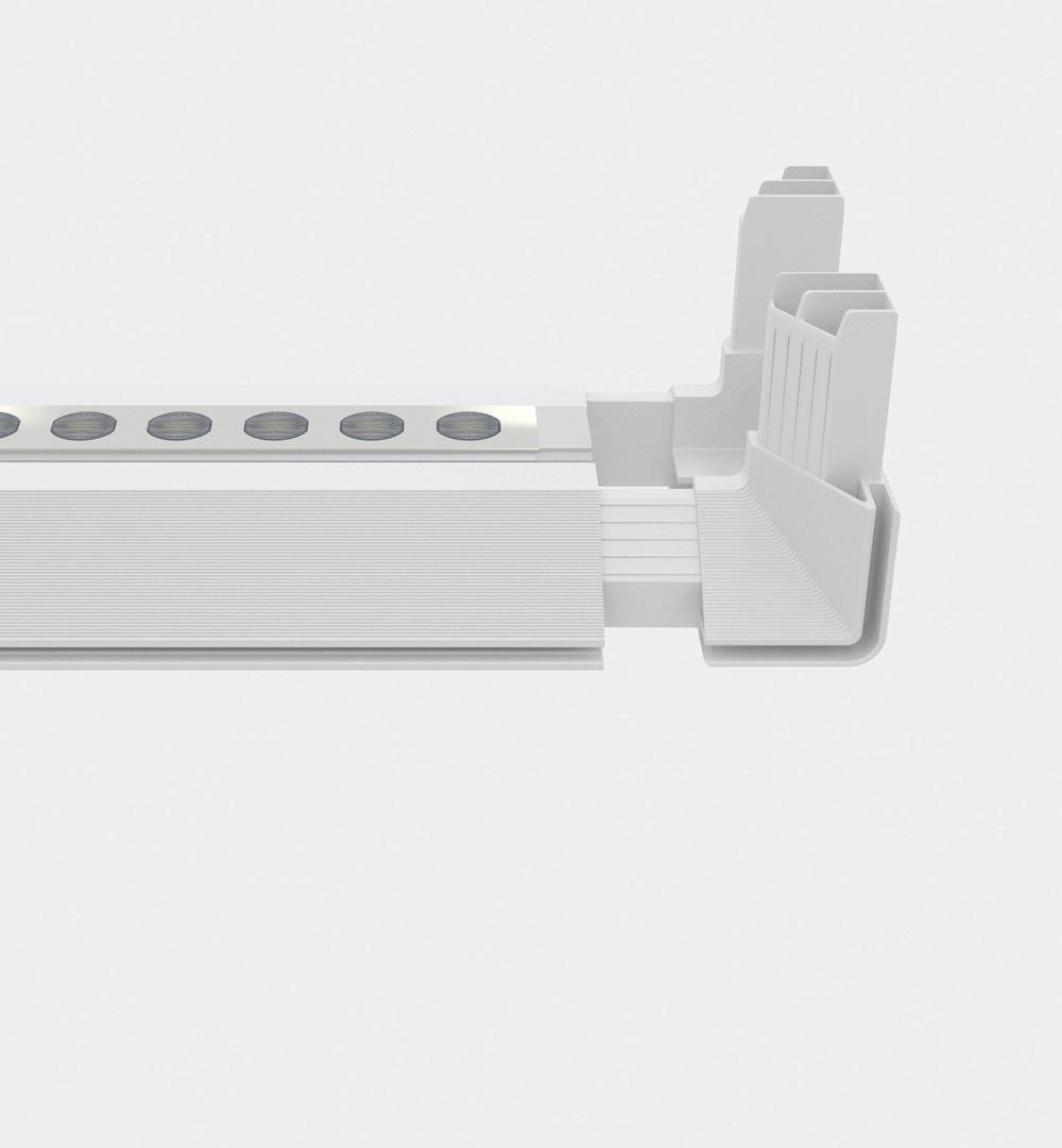 PIXLIP GO Lightbox - Profil mit LED Einheit