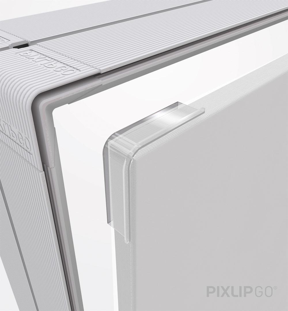PIXLIP GO Lightbox - Ecke