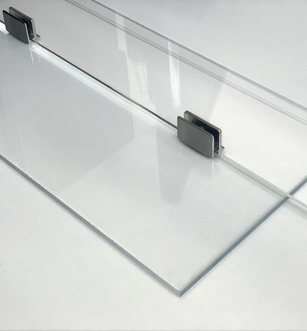 Plexiglas Trennwand Schreibtisch Standfuß