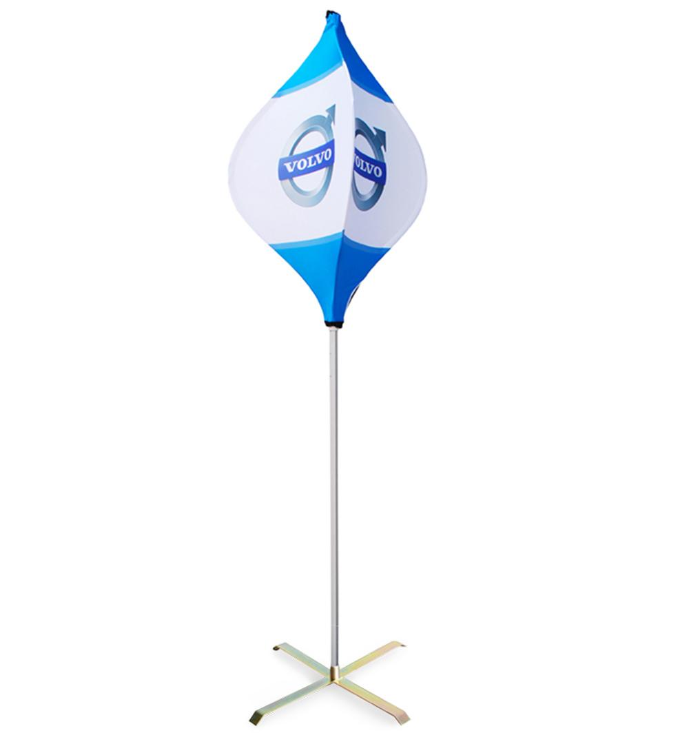 Pop Flag 3-seitig