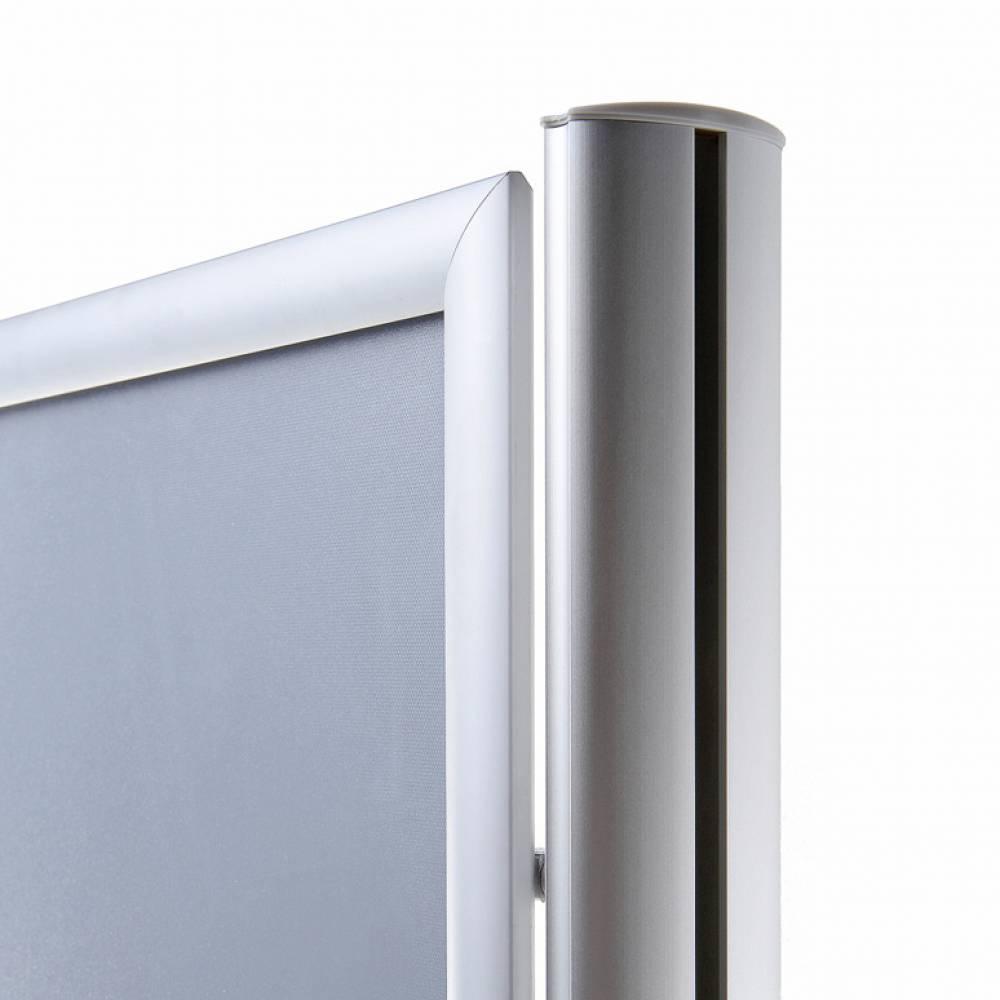 Infoboard Posterständer - Kante