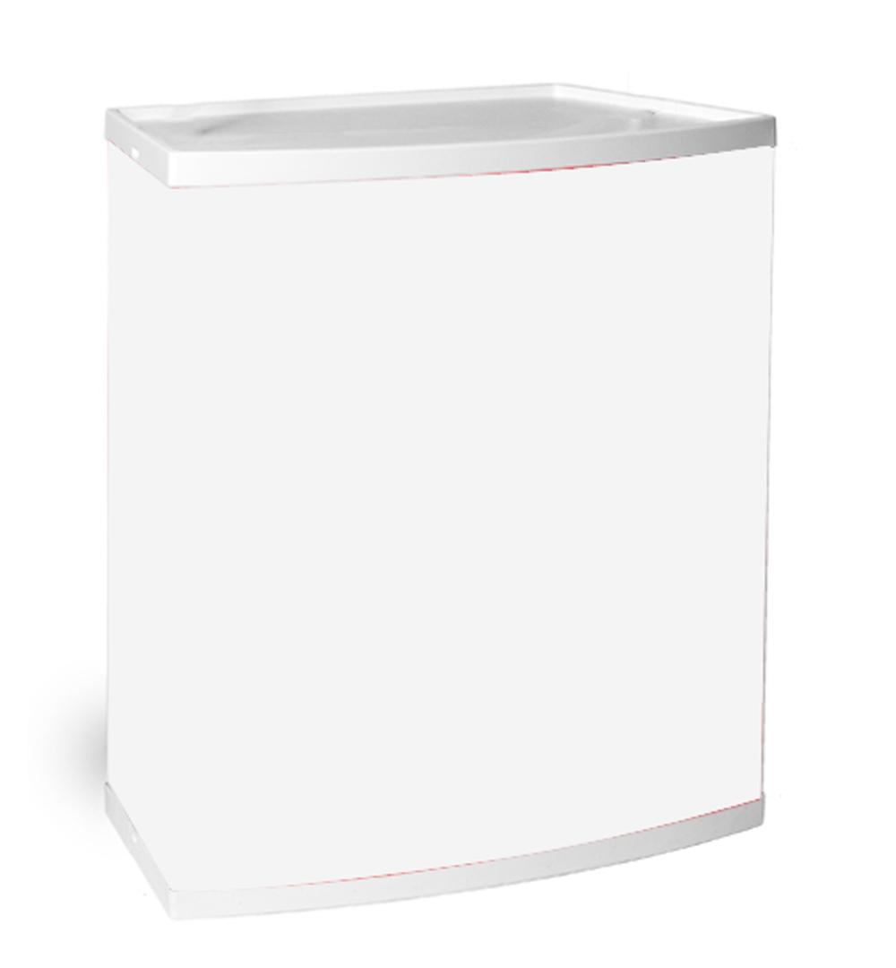 Promo Kunststofftheke - Druckpaneel weiß