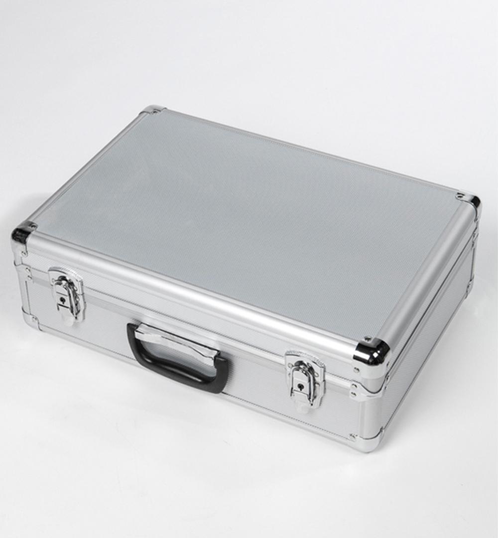 Prospektständer Alu New York -  Koffer