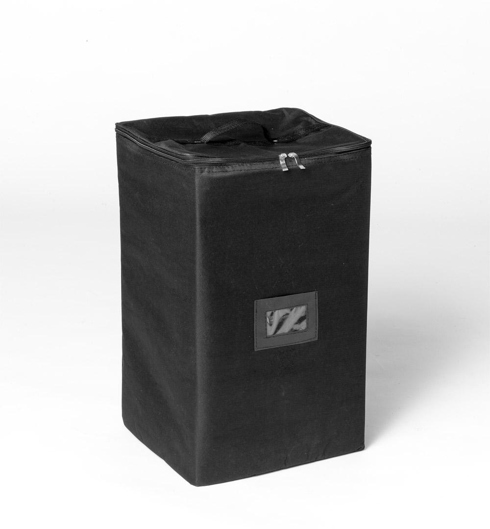 Messestand Faltwand Textil Evolution - Prospektständer Luxury Tasche