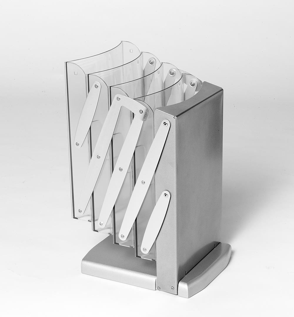 Messeset 210 - Prospektständer Luxury falt- und klappbar