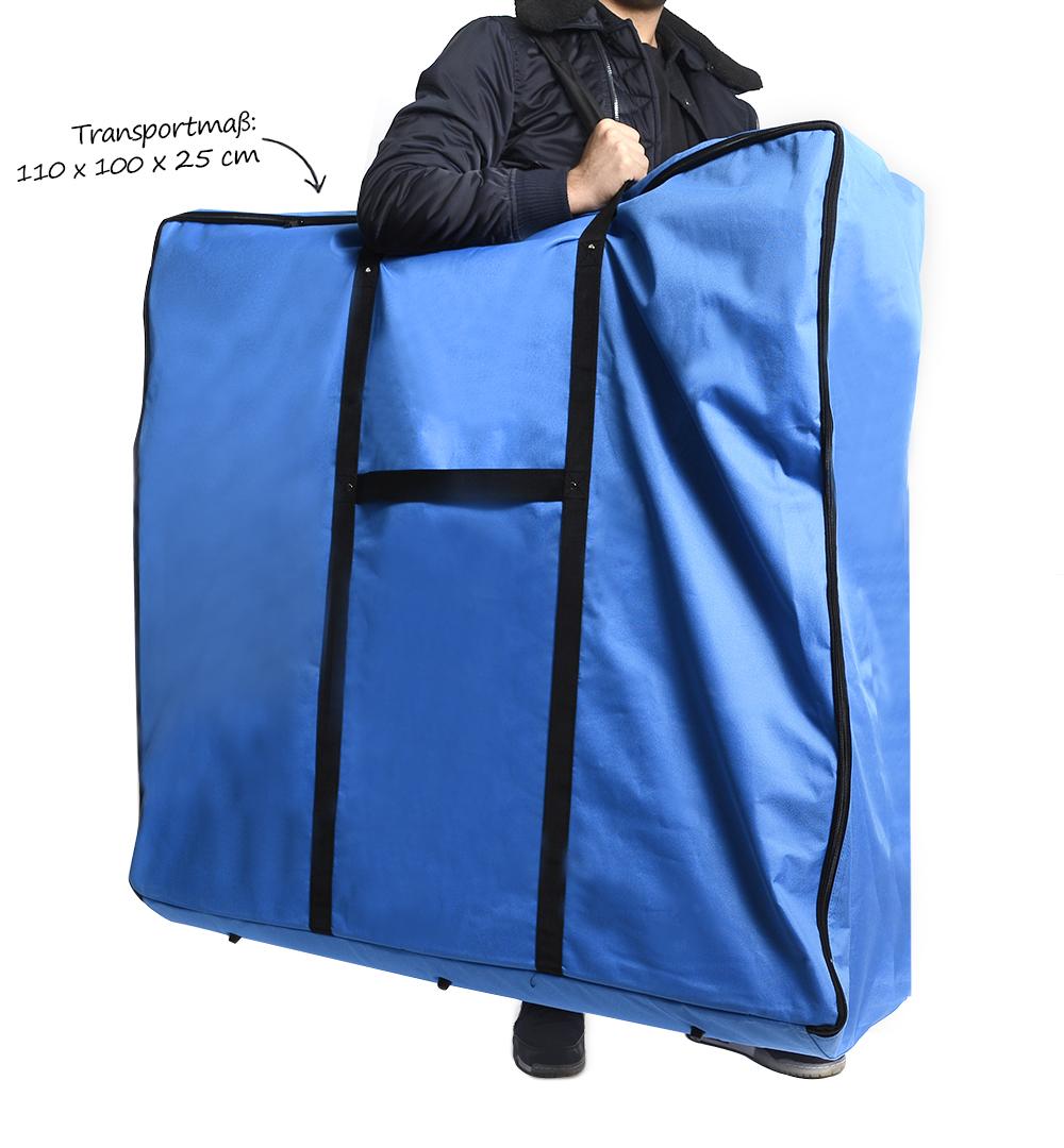 Halbrundtheke Groß - Transporttasche Einsatz