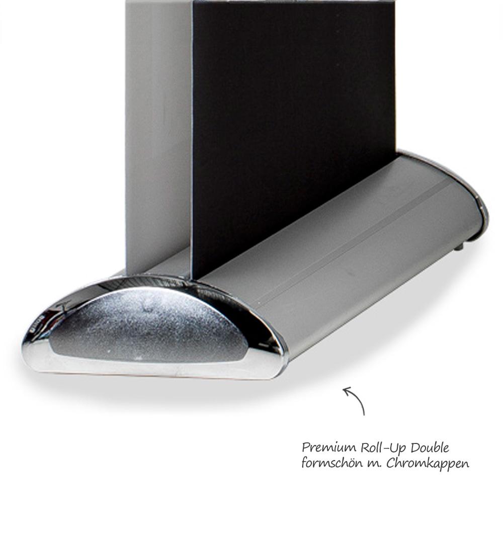 Roll-Up Luxury Double - Kassete Seitenansicht