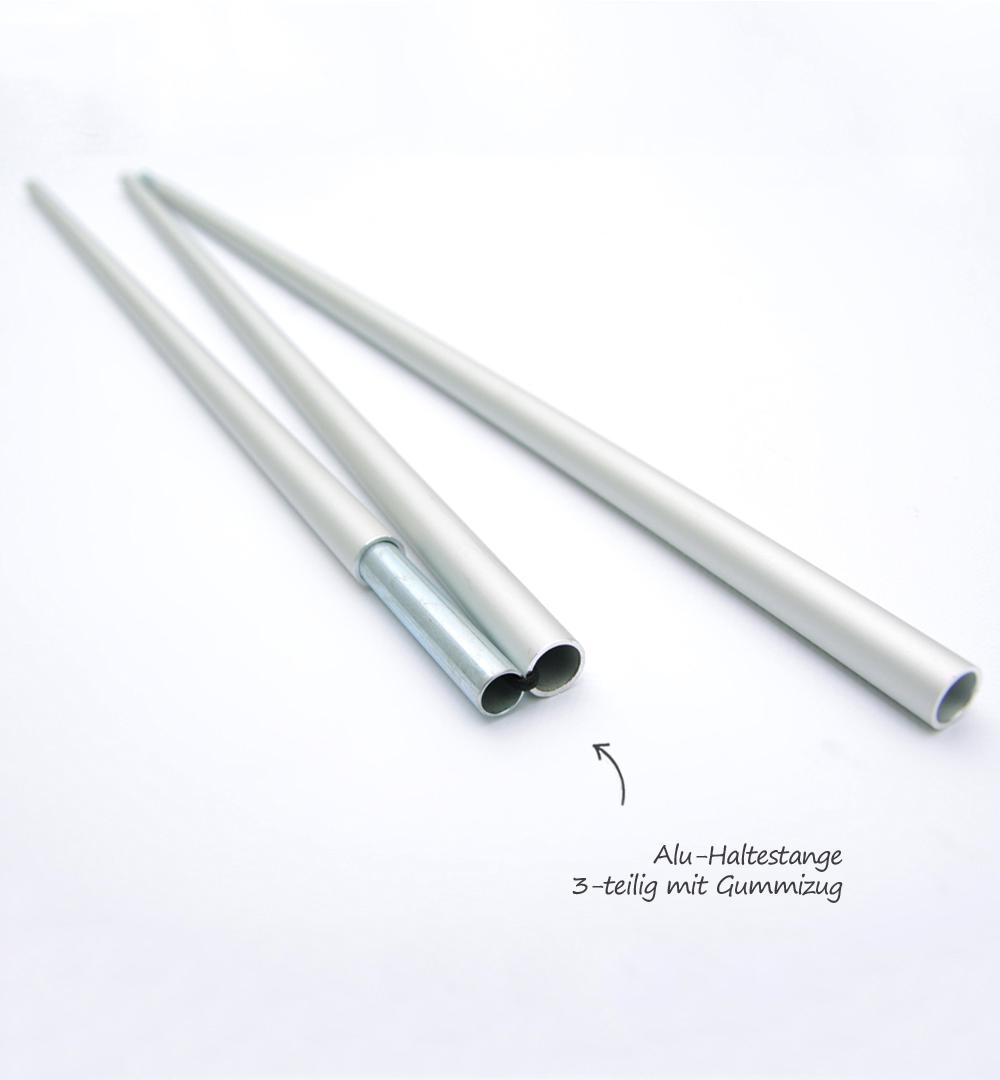 Roll-Up Standard - Stange zusammengeklappt