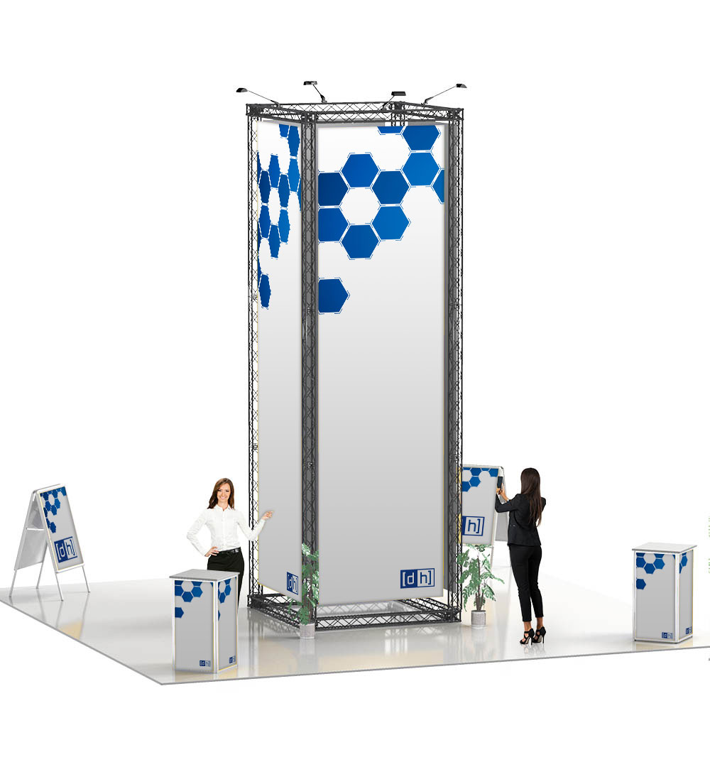 Messestand Traverse S10 Form - live