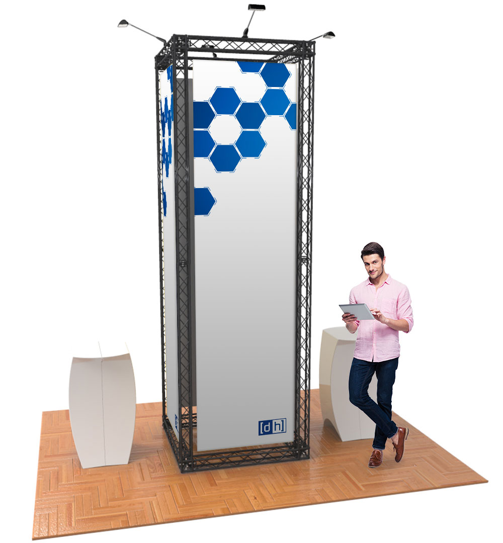 Messestand Traverse S5 Form - live