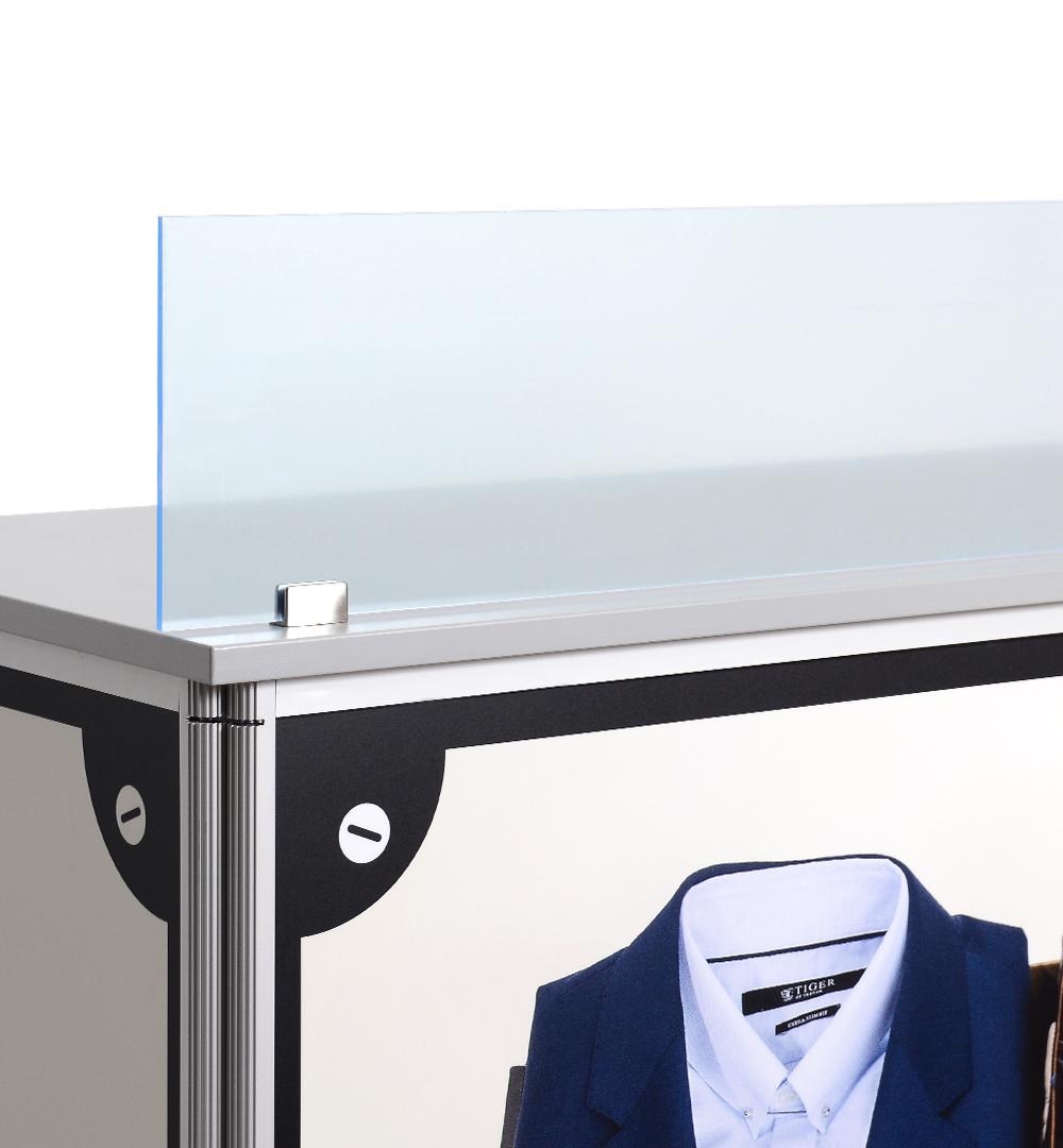 Spuckschutz Acrylglas groß 2m x 1m