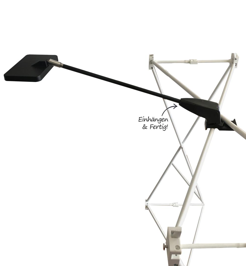 Messeset 302 - LED Strahler Befestigung