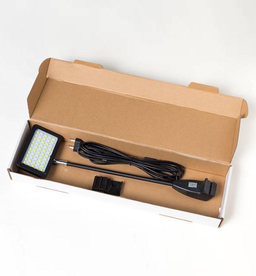 Messeset 112 - LED Strahler für Faltsysteme Verpackung