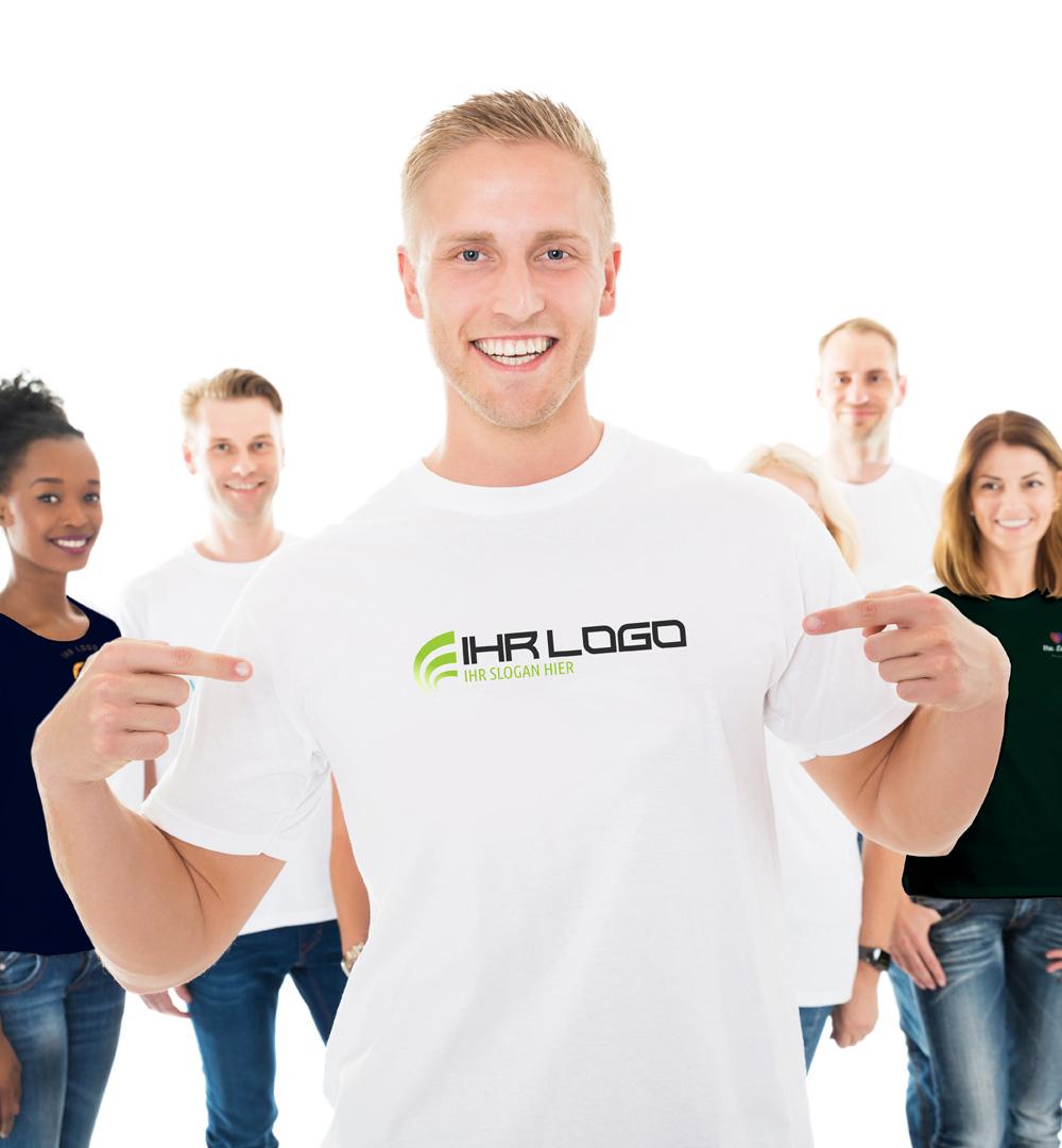 Team T-Shirt Logo Print - Herren