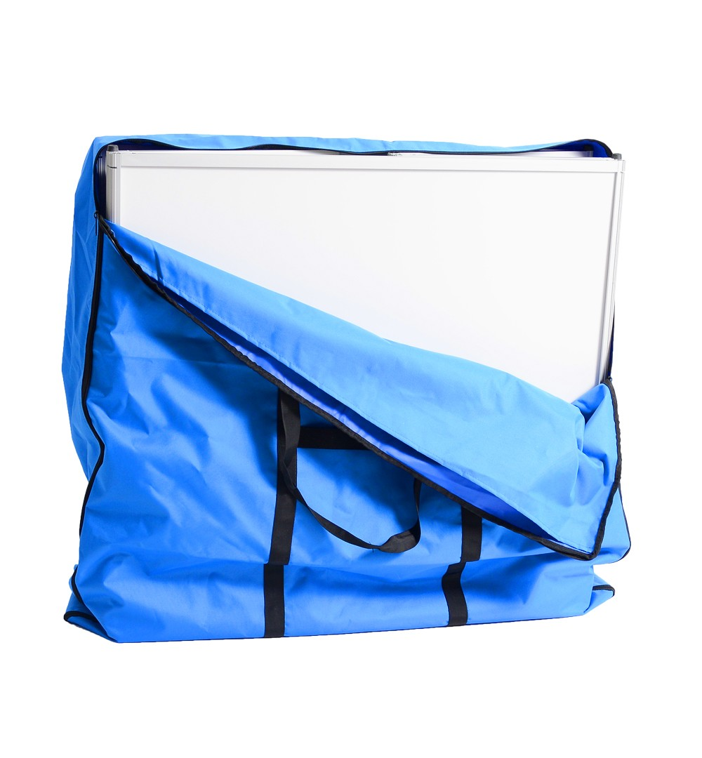 Messestand Faltwand Textil Evolution - Würfeltheke Transporttasche