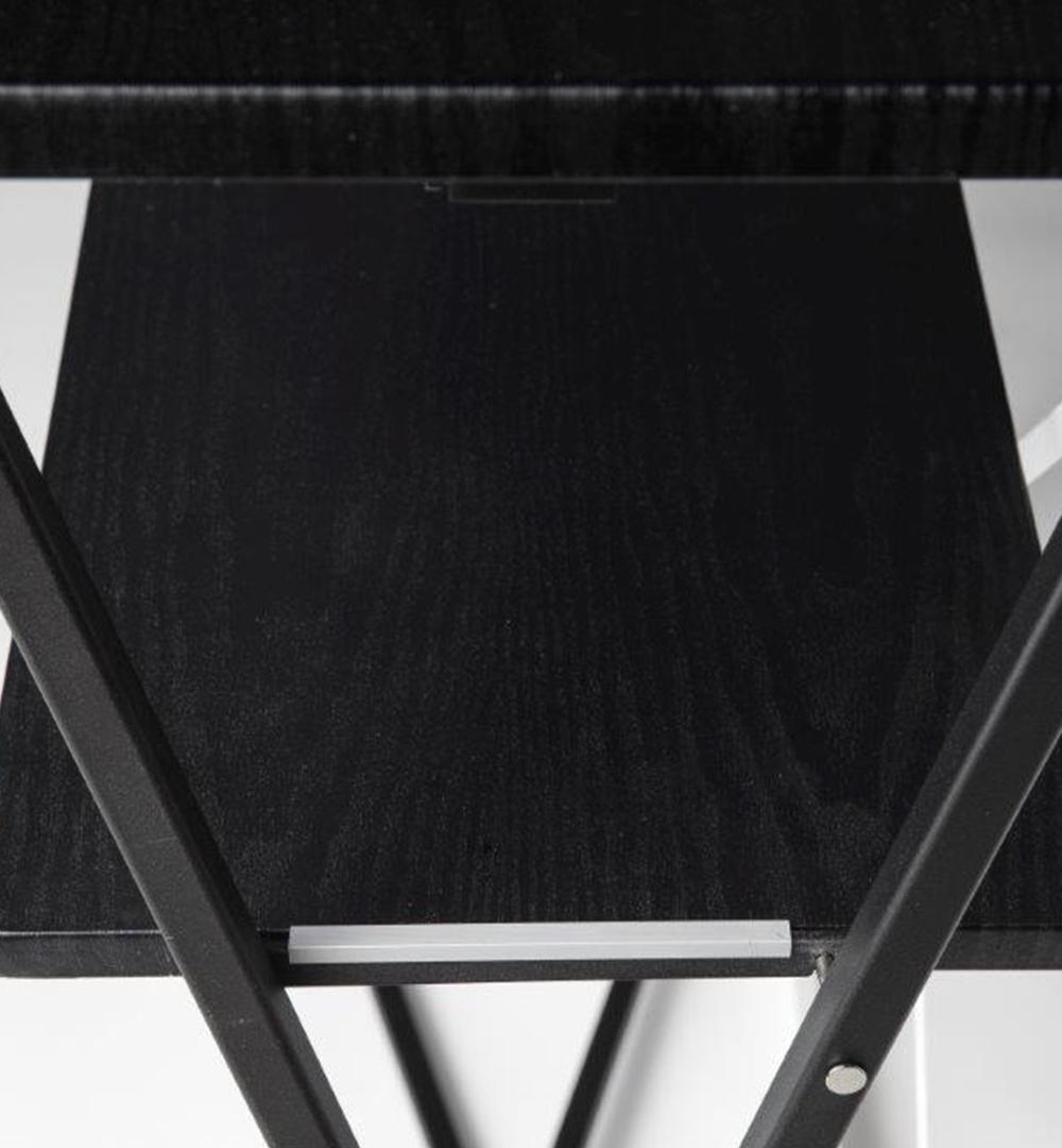 Textil Falttheke Rechteck - Front Zwischenboden