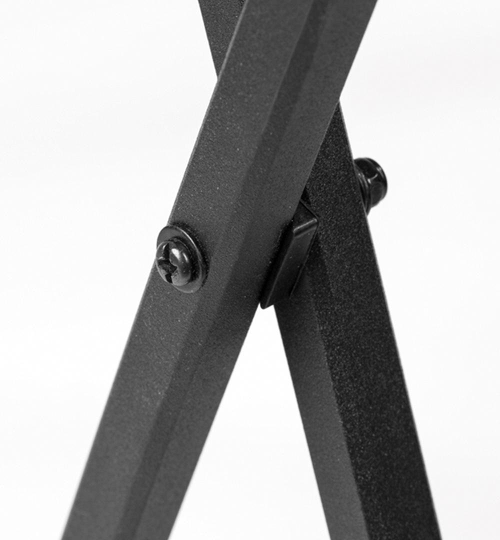 Textil Falttheke Rechteck - Faltkreuze
