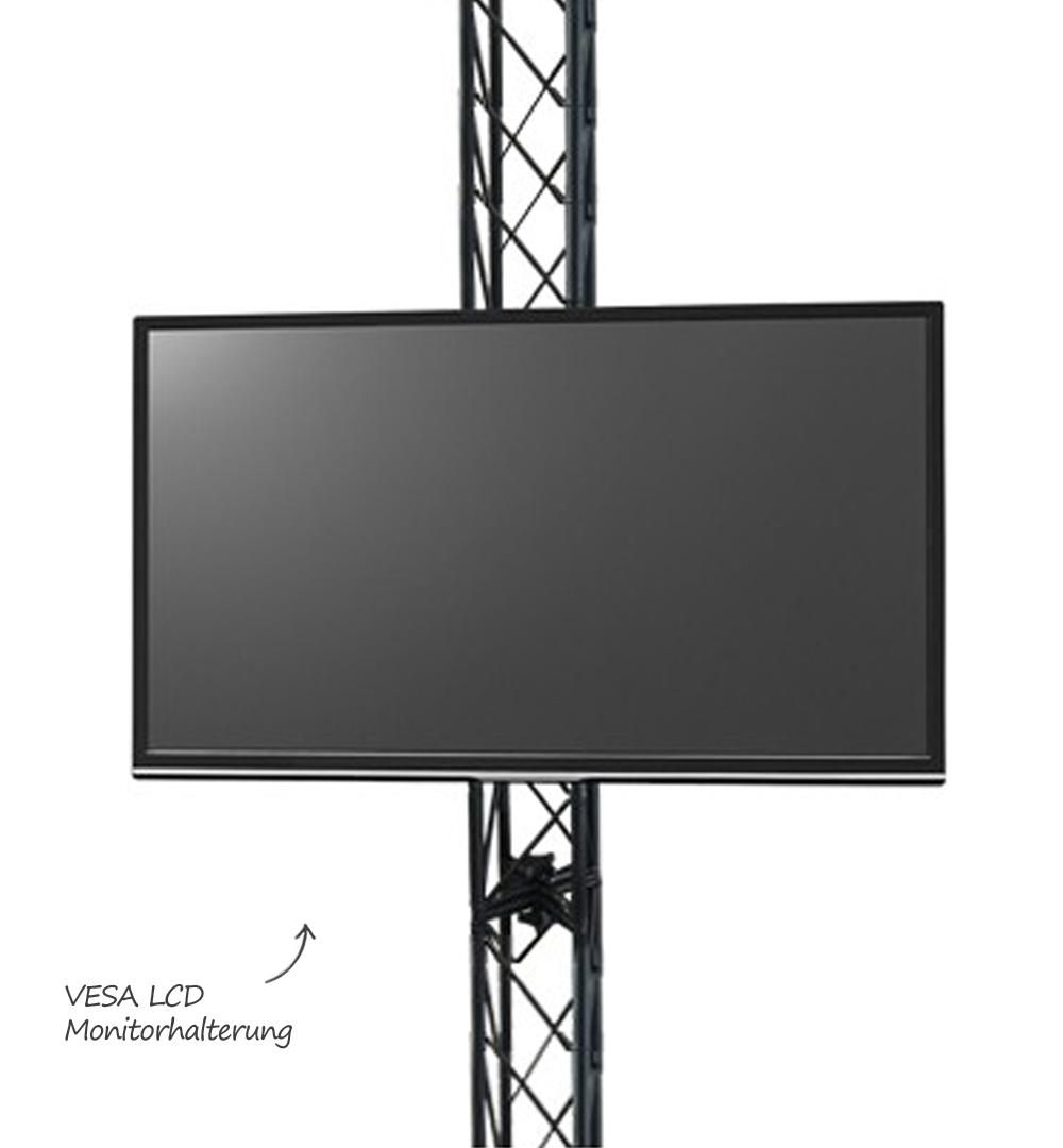 Traversensystem Element - Vesa TV Halterung