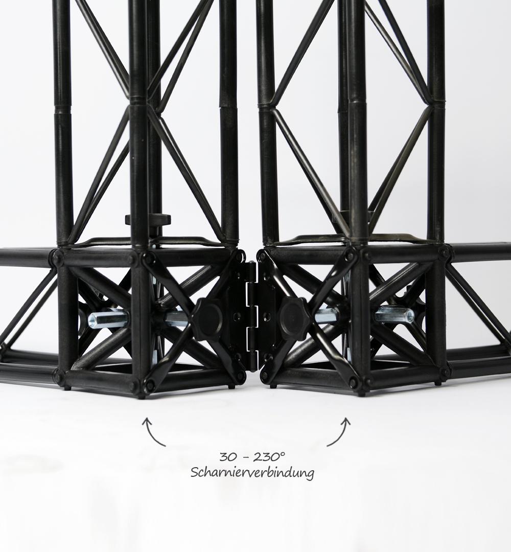 Traversensystem Elemente - Scharnier
