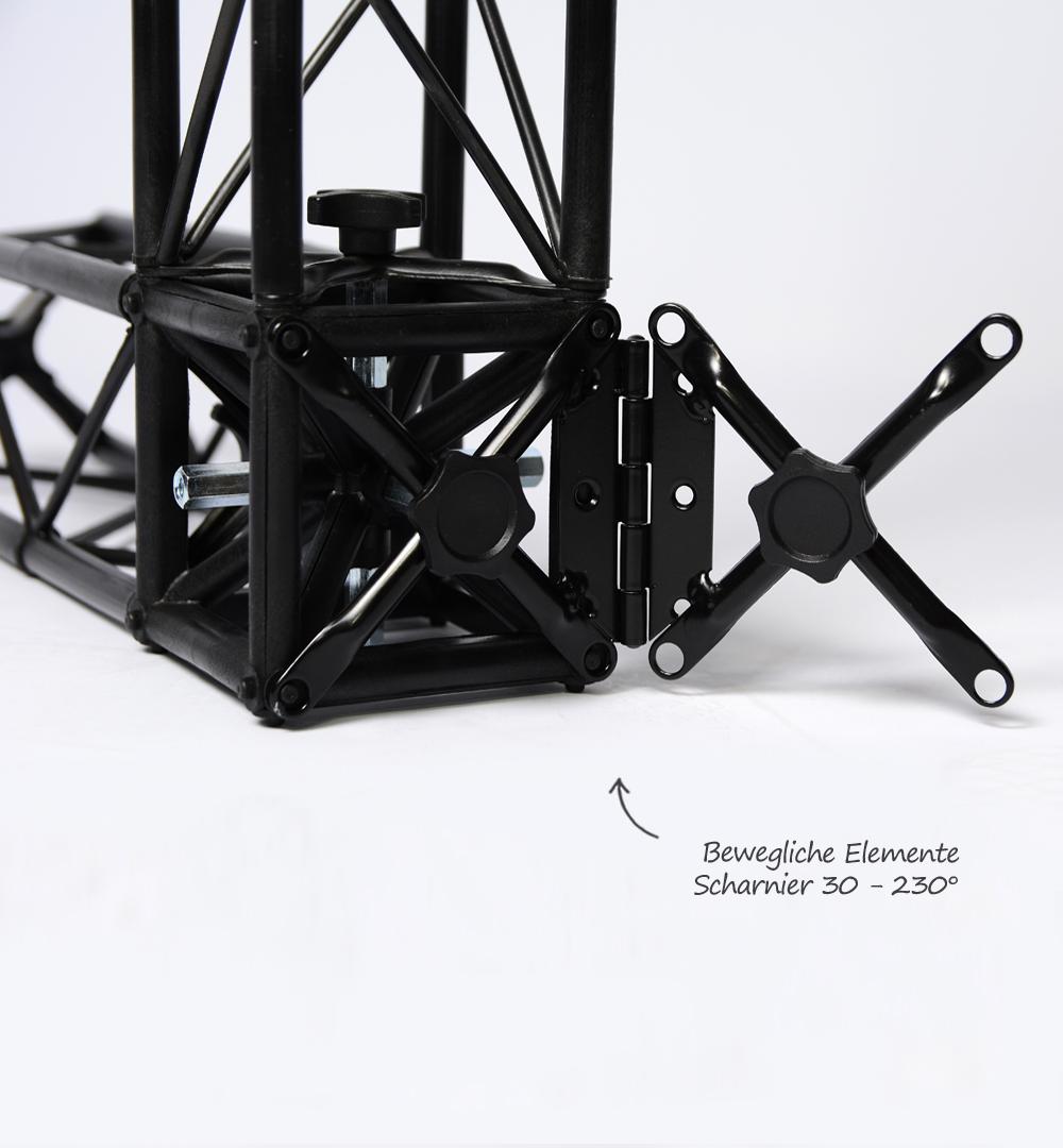 Traversensystem Element - Scharnier