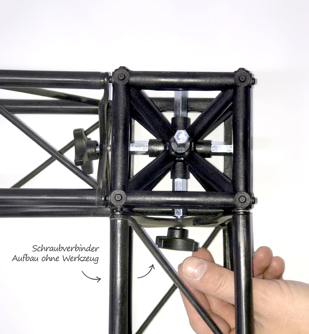 Traversensystem Elemente - Schraubverbinder