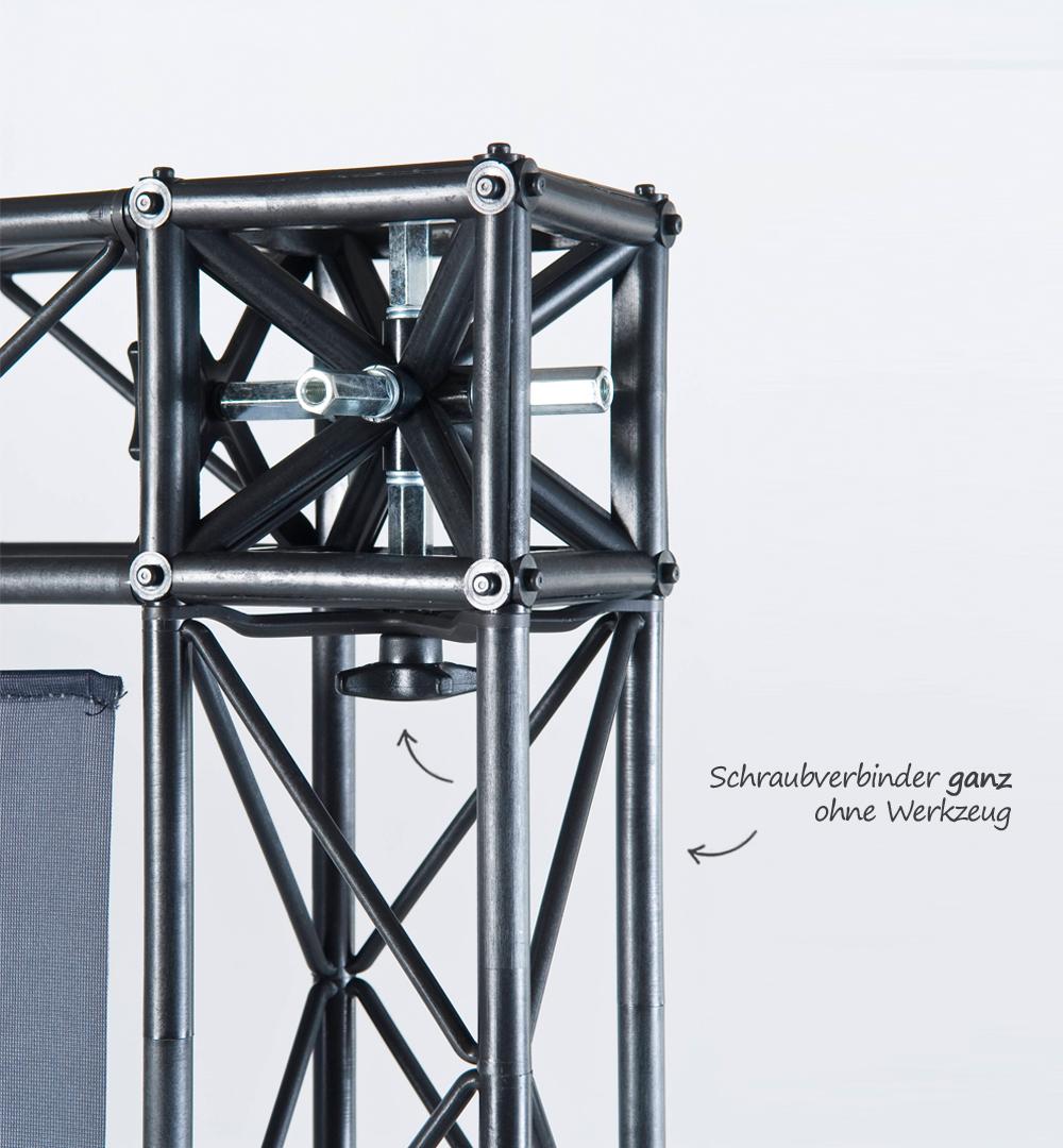 Traversensystem Element - Schraubverbinder