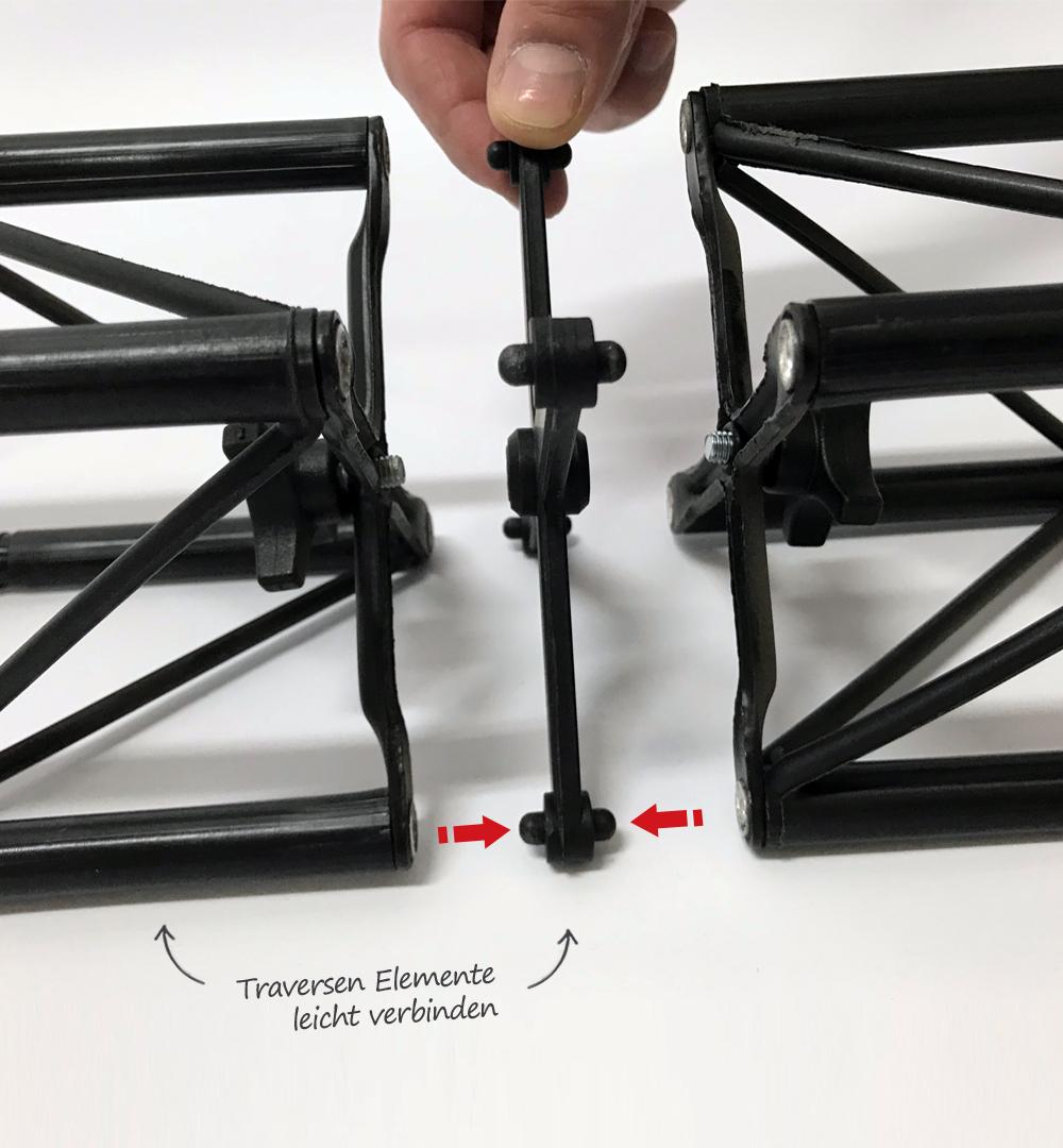 Traversensystem Element - Verbinder