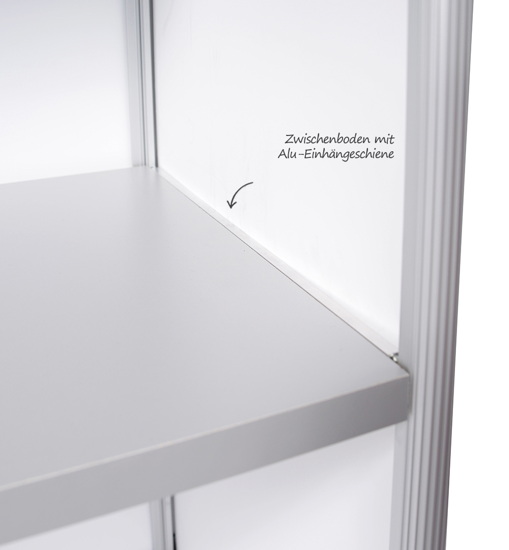 Minitheke - Zwischenboden